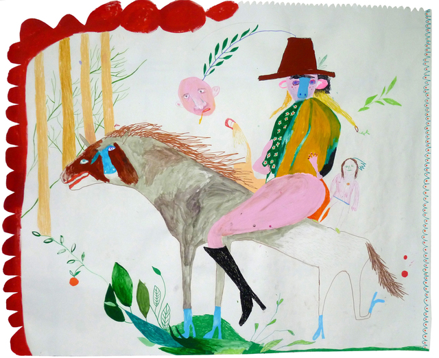 , 'Cowboy,' 2011, Robert Kananaj Gallery