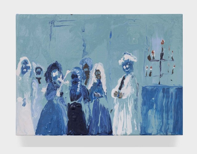 , 'Blue Cult,' 2015, Half Gallery