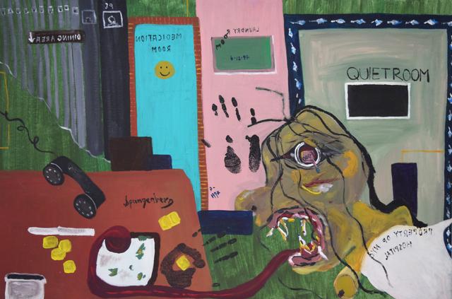 Susan Spangenberg, 'My Worst Nightmare', 1997, Fountain House Gallery
