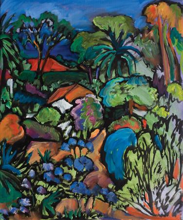 , 'Provencal Garden (Villa Romarine, Cap Ferrat),' , Pucker Gallery