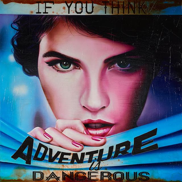 , 'Adventure is...,' 2018, Ace Type