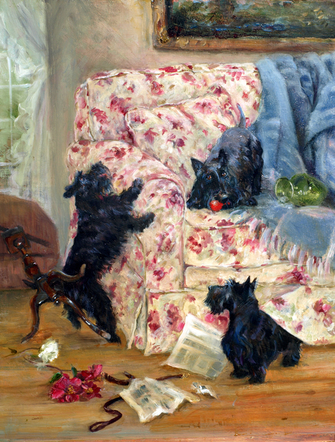 , 'Mayhem,' 2012, Dog & Horse Fine Art