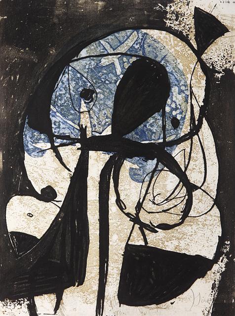 Joan Miró, 'La Commedia dell'Arte: Plate VIII', 1979, Print, Colours etching on Arches paper, Il Ponte