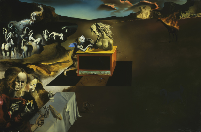 Salvador Dalí, 'Inventions of the Monsters', 1937, Art Institute of Chicago