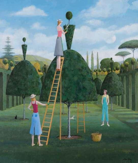 , 'Ballet Garden II,' 2018, Catto Gallery