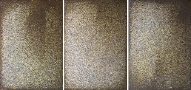 , 'Trittico giallo-marrone,' ca. 1973, Bugno Art Gallery