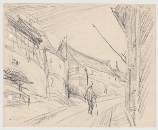 , 'Dorfstrasse, Kromsdorf,' 1913, Henze & Ketterer