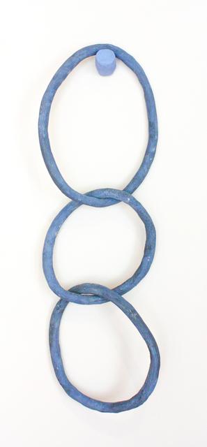 Liv Antonecchia, 'Blue Rings', 2019, Sculpture, Stoneware clay and ceramic glaze, Miller Gallery Charleston