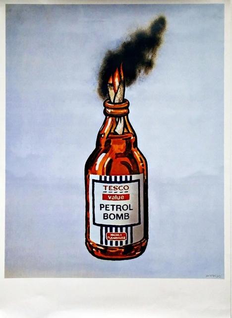 Banksy, 'Tesco Petrol Bomb', 2011, Alpha 137: Prints & Exhibition Ephemera VII