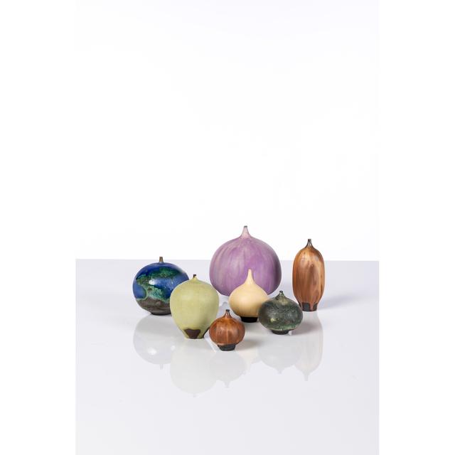 Rose Cabat, 'Feelies, Set Of Ten Vases', 1960-2000, PIASA