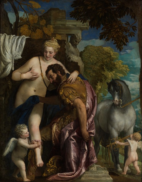 Paolo Veronese, 'Mars and Venus United by Love', ca. 1570-1579, The Metropolitan Museum of Art