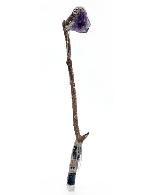 , 'amethyst wishing saw of protection and cleansing,' 2019, MAIA Contemporary