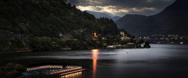 David Drebin, 'Lake Como Lights', 2012, Galerie de Bellefeuille