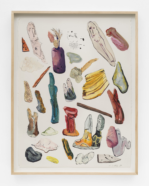 , 'Object Inventory,' 2014, Johannes Vogt Gallery