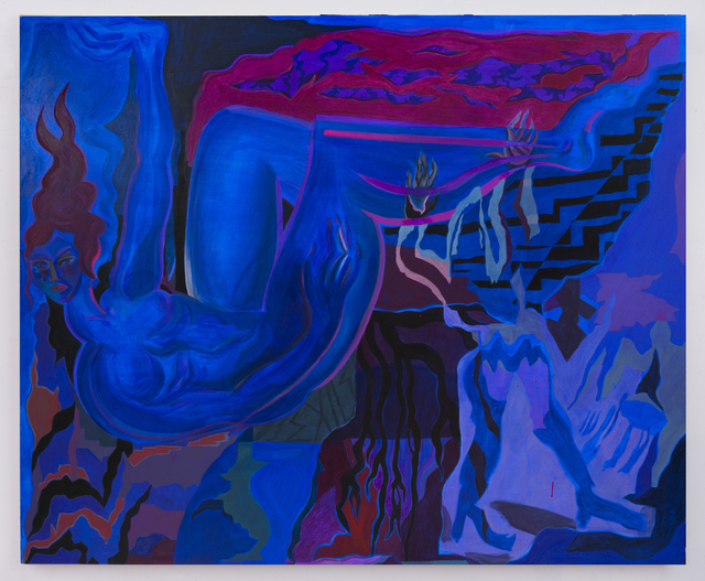 , 'Blue Exile,' 2016, Night Gallery