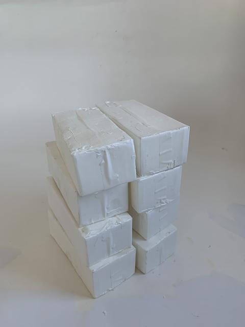 Mark Power, 'Ten Copies of a 8x4x3 Cardboard Box', 2020, Sculpture, Cast resin, FROSCH&CO