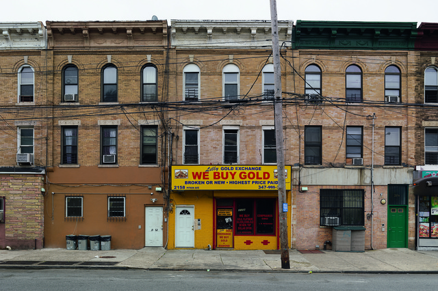 , 'Lilly's Gold Exchange, Brownsville, New York,' 2013, Pace Gallery