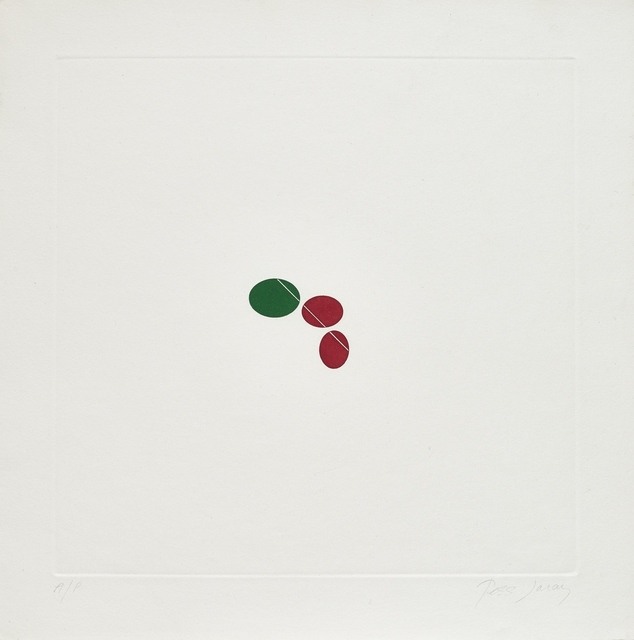 , 'Green and Red,' 1976, Karsten Schubert