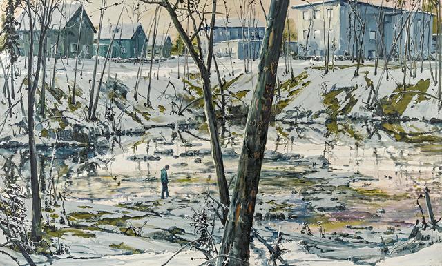 Sven Kroner, 'LOVE ME', 2007, Painting, Acrylic on canvas, Van Ham