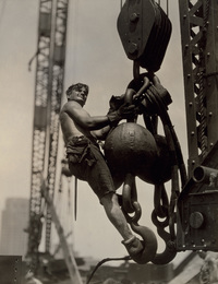 Steelworker on Empire State Building