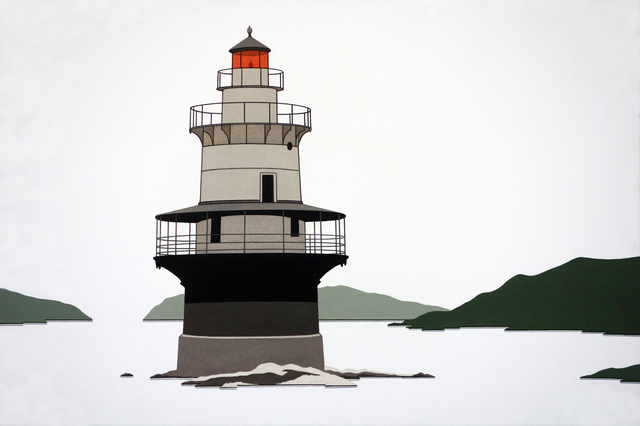 , 'Goose Rocks Lighthouse,' 2016, Margaret Thatcher Projects