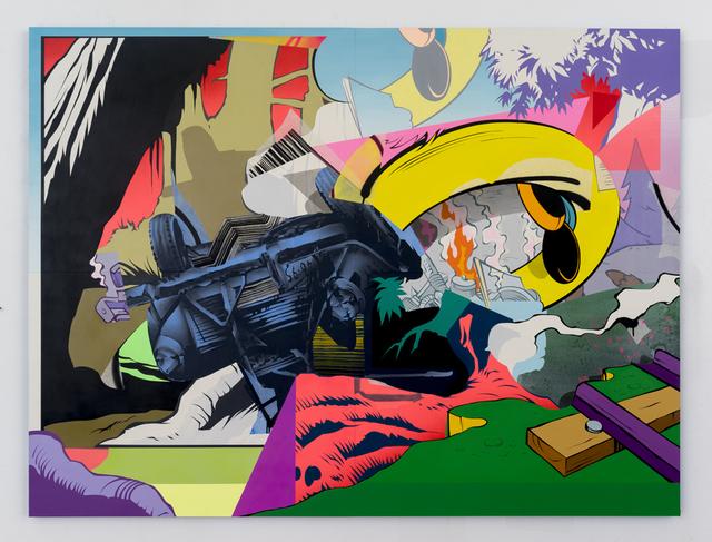 , 'Wreck 2,' 2015, Gastman