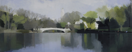 Lisa Breslow, 'Central Park, Bow Bridge', 2012, Kathryn Markel Fine Arts