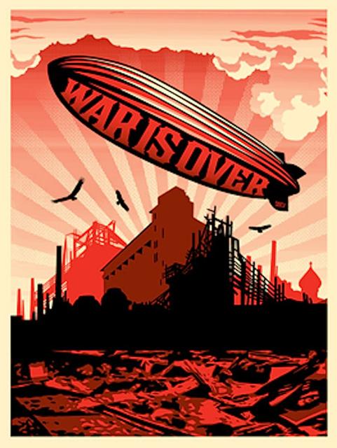 Shepard Fairey (OBEY), 'War Is Over', 2008, Gregg Shienbaum Fine Art