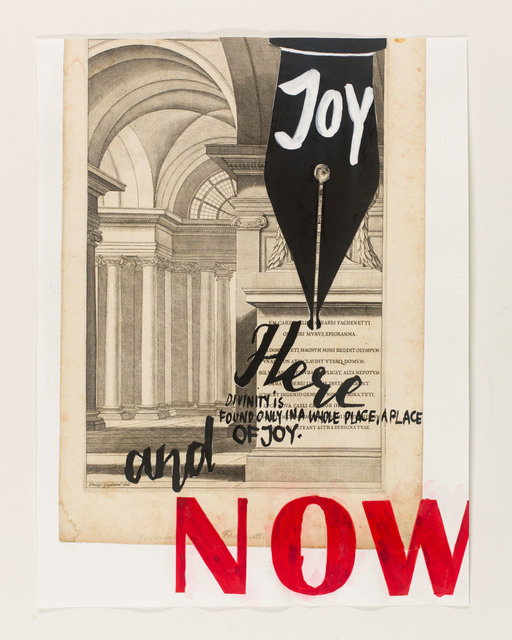 , 'here and now,' 2015, Galerie Clemens Gunzer