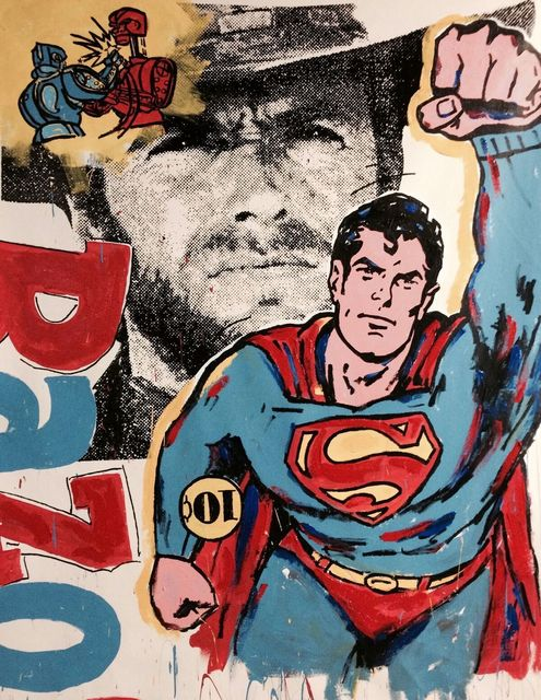 , 'Action, Superman! ,' 2017, Artist's Proof
