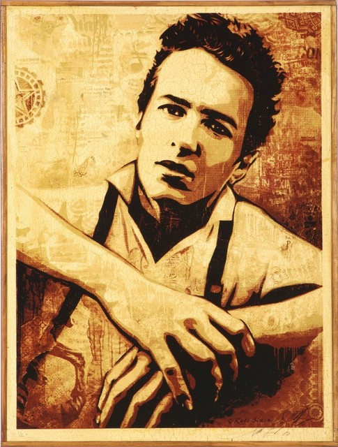 , 'Joe Strummer,' 2010, KP Projects