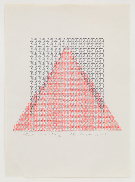 , 'The Great Pyramid,' 1980, Jane Lombard Gallery