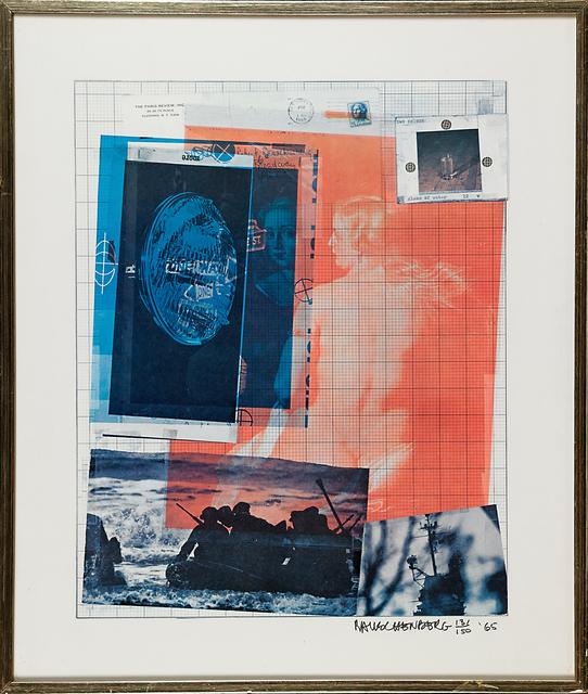 Robert Rauschenberg, 'Paris Review Poster', 1965, Rago