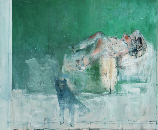 Cesare Lucchini, 'Ascensione', 2019, Painting, Oil on canvas, rosenfeld
