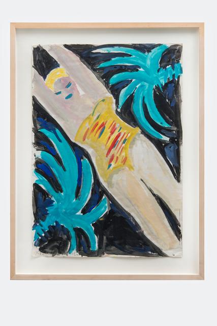 , 'Unter Palmen,' 1982, Galerie Kornfeld