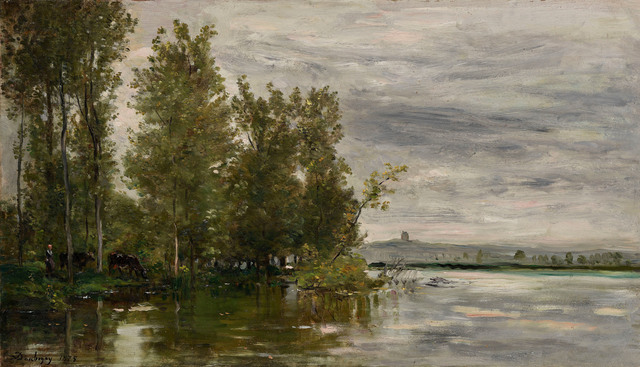 Charles François Daubigny, 'L'Inondation', 1875, Stoppenbach & Delestre