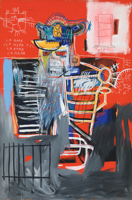 Jean-Michel Basquiat, 'La Hara', 1981, Painting, Acrylic and oilstick on wood panel, Guggenheim Museum