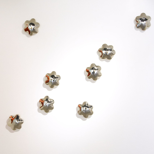 , 'Wall Flowers - White Gold Cluster,' , CODA Gallery