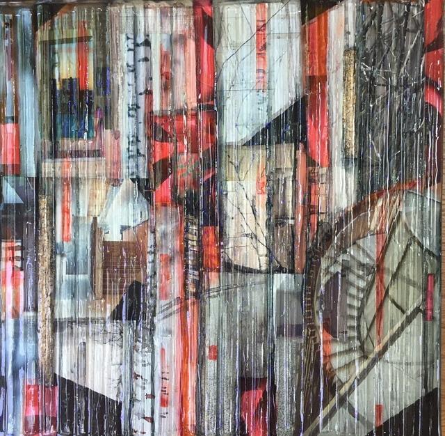 , 'Red Birch 2,' 2017, Ai Bo Gallery