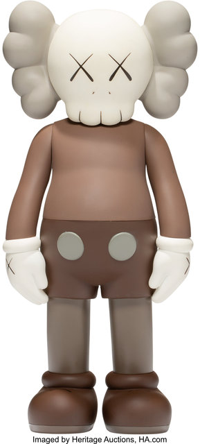 KAWS, 'Five Years Later Companion (Brown', 2004, Sculpture, Painted cast vinyl, Heritage Auctions