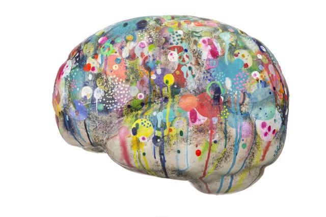 , 'Somata,' 2017, The Yogen Früz Pinkberry Brain Project