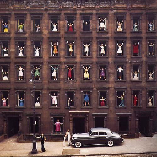 Ormond Gigli, 'Models in the Windows, New York City', 1960 (printed later), Peter Fetterman Gallery