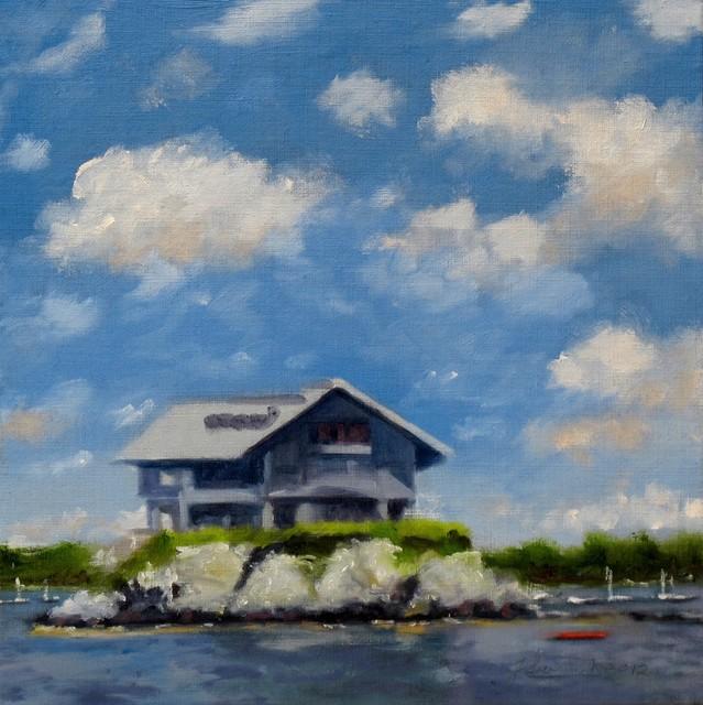 , 'House on the Rocks - The Dumplings (Newport, RI),' 2017, Cerulean Arts