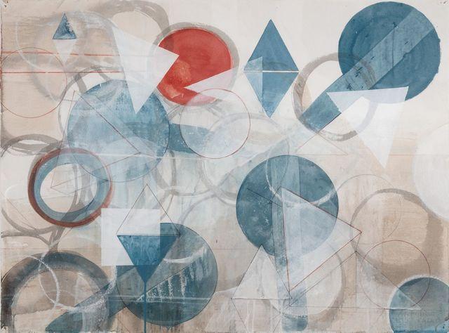 , 'Red Circle,' 2017, Tayloe Piggott Gallery