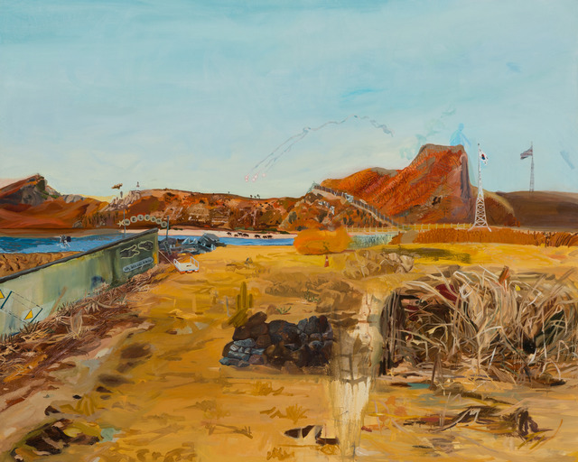 , 'Yellow Landscape,' 2013, Gallery LVS