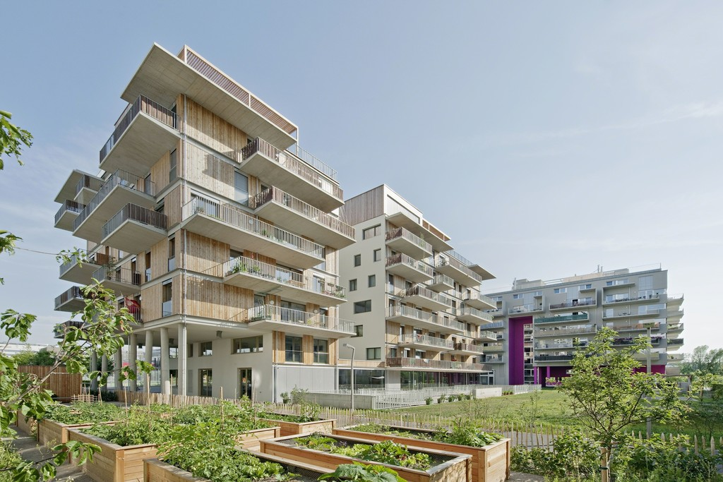 Wohnprojekt Wien, einszueins architektur, 2013, Photo: Hertha Hurnaus