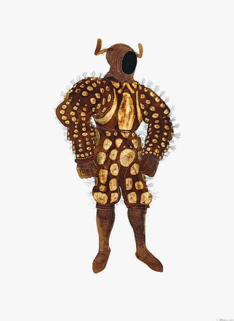, 'Caterpillar Suit,' 2005, EBONY/CURATED