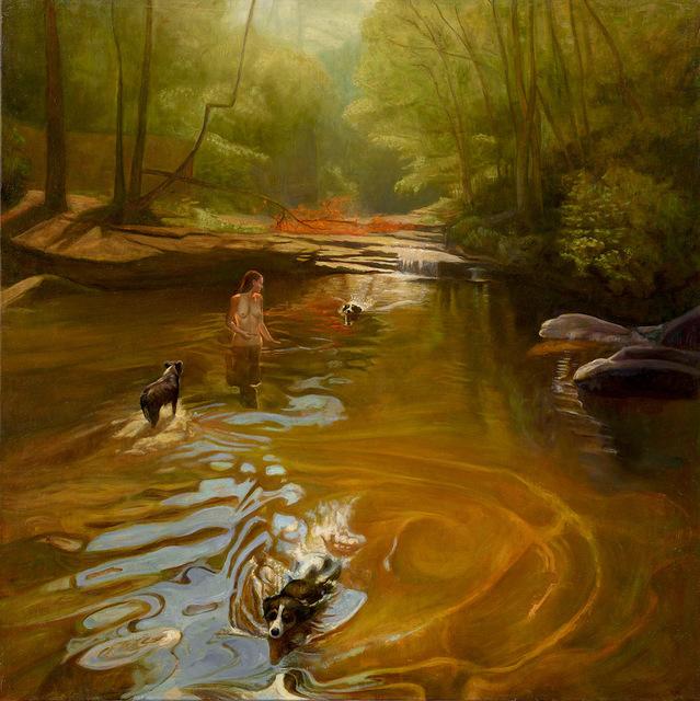 David Molesky, 'Dog Hollow - oil on linen ', 2018, Andra Norris Gallery
