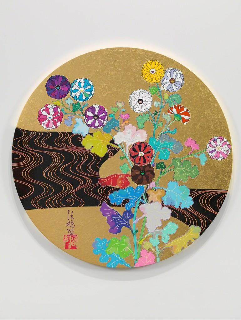 Takashi Murakami, 'The Golden Age: Kōrin – Kansei,' 2014, Gagosian