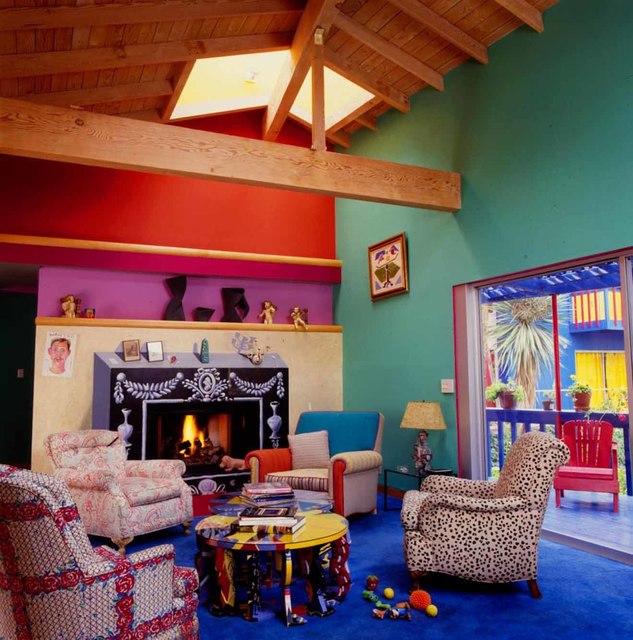 Jim McHugh   David Hockney Living Room in Los Angeles ...